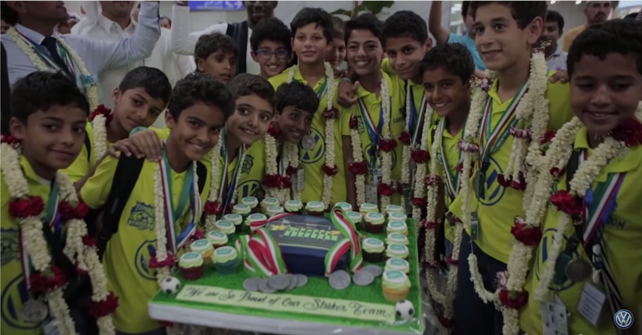 Saudi participation in Volkswagen Junior World Masters